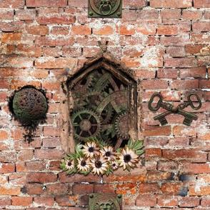 steampunk window