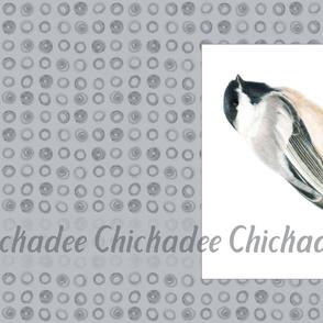 Tea Towel Chickadee