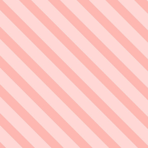 Diagonal Stripes Pink