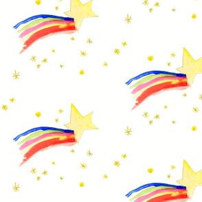 shooting stars / kids print