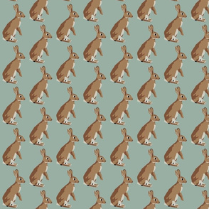Richard the rabbit in robins egg blue (small)