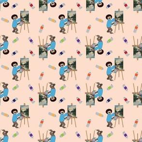 Bob Sloth Small Print by ArtfulFreddy