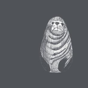 Panel Gray Seal