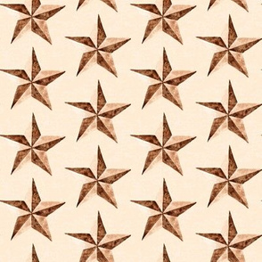 19-01B Antique Texas Star Watercolor _ Miss Chiff Designs