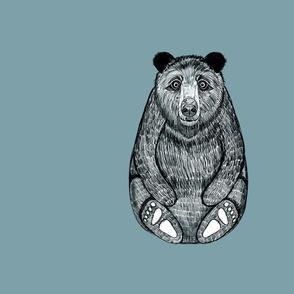 Panel Bear Blue