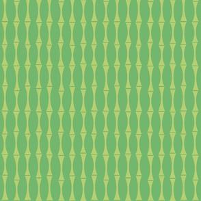 Modern Bamboo green small