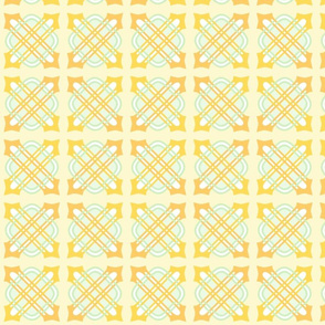 Merlins Knot Corn Yellows 6 Green White