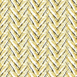 herringbone gold threads