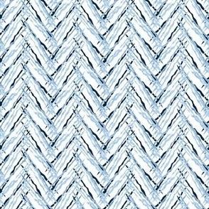 herringbone navy threads