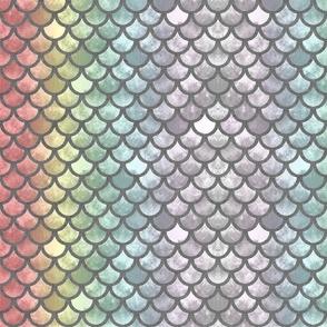 Rainbow Mermaid Scales 22