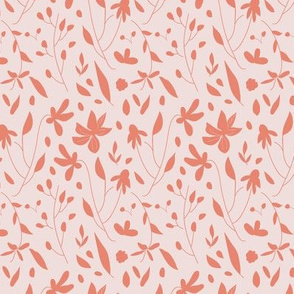 Fun Hand-drawn Leaves and Florals