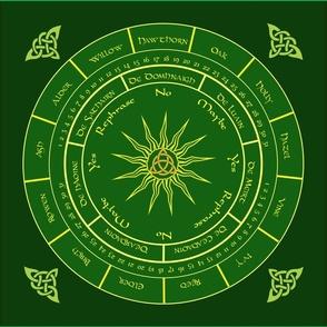 Celtic Pendulum Cloth