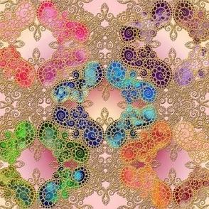 Marrakesh ll yellow-pink-rose