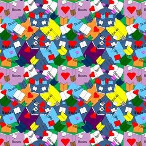 We Love Books Fabric 9