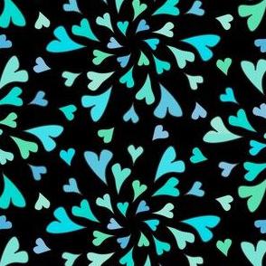 TurquoiseHeartsBlack