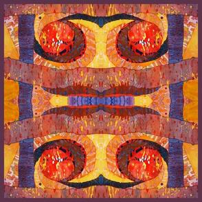 Ancient Tones (square quilt large)
