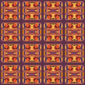 Ancient Tones (square quilt small)
