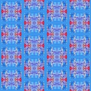 Summer Heat (blue quilt small)