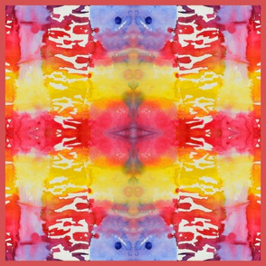 Summer Heat (red quilt large)