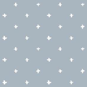 Cross Pattern (Light Blue)