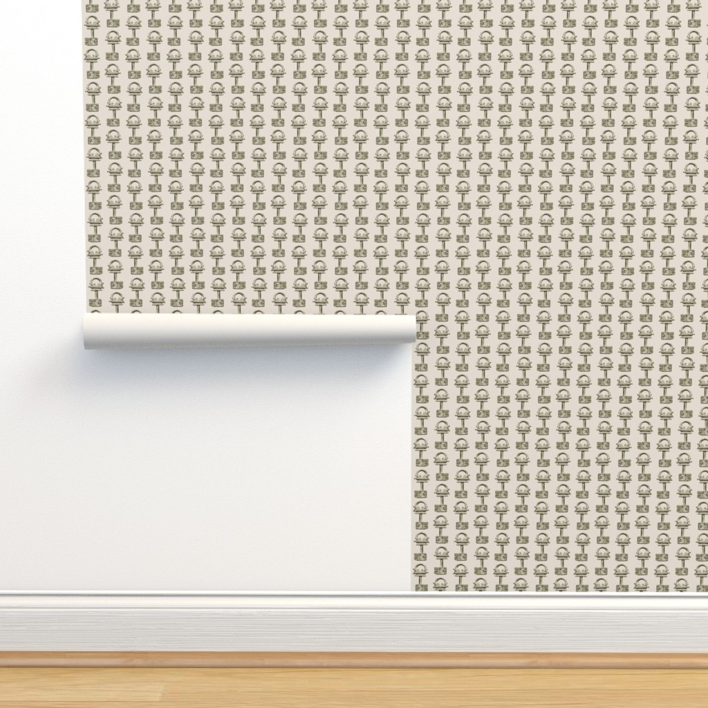 Isobar Durable Wallpaper featuring viking-key by wren_leyland