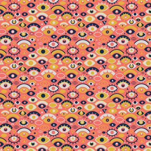 Eyes Over Coral
