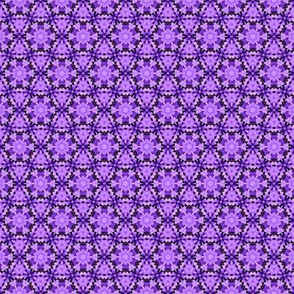 Quilting in Purple Design No 11