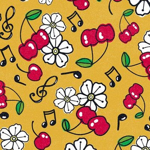 Rockabilly Cherries