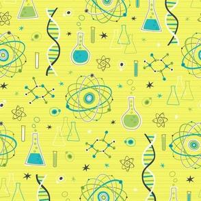 Midcentury Modern Science (Yellow)