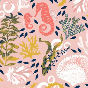 Seaweed Slumber - Pink
