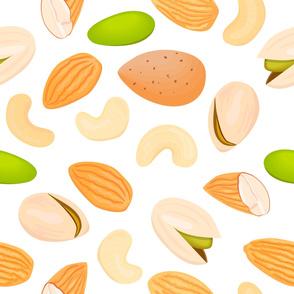 three nuts pattern