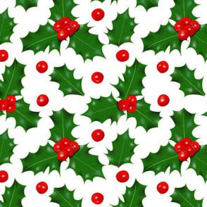winterholly pattern
