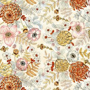 bohem floral crowdy