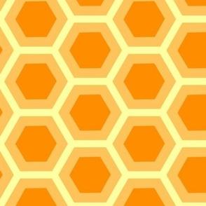 Hexagon Honeycomb Simple Nature Spirit Organic