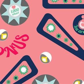 Pink Ladies pinball