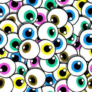 eyes pile