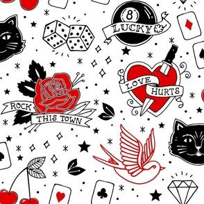 Inked Rockabilly Tattoos Large