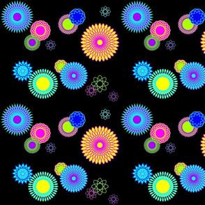 Atoms or Galaxies (black) Large