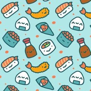 Sushi Fabric Cute Sushi Food Fabric