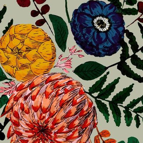 bohem floral color candy