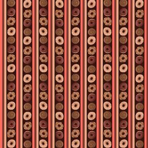 Sweet_Sloths_Round_Donut_Stripes brown