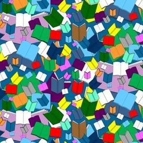 We Love Books Fabric 4