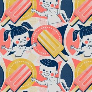 Vintage Popsicle Ad