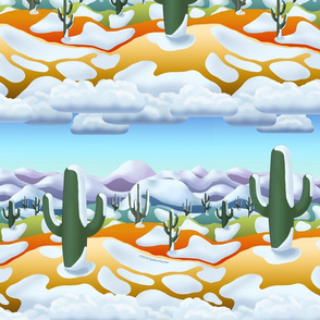 Desert Snow Modernism