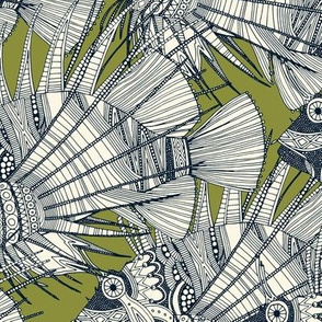 fish mirage green