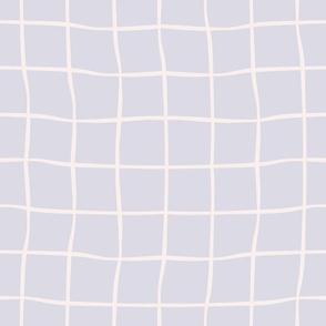 windowpane check-lilac