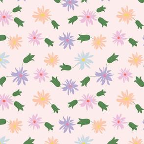 flowers -blush