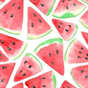 Watermelon slices pattern