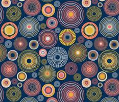 concentric circles – dark blue