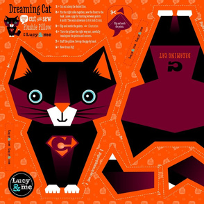 Cut and Sew Dreaming Cat